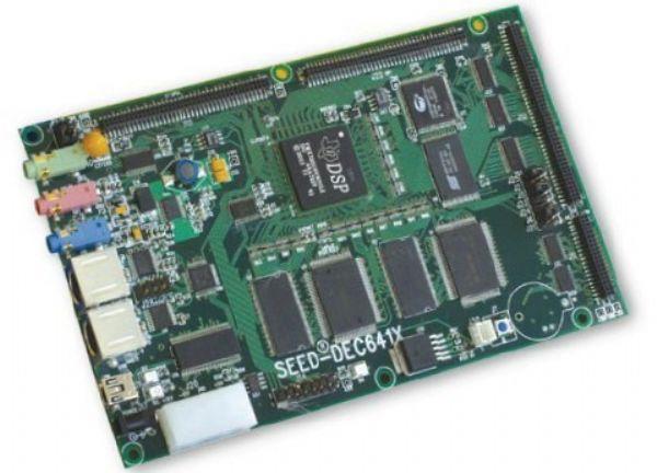 TMS320C6416应用模板SEED-DEC6416