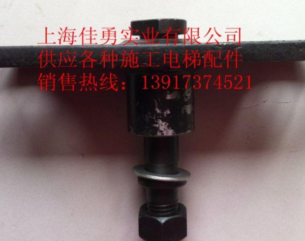 宝达施工电梯配件导轮板组合导轮电缆滚轮靠背轮