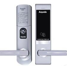 防盗门通用电子锁 别墅专用智能门锁 天地杆指纹门锁 电子感应锁 电子指纹锁