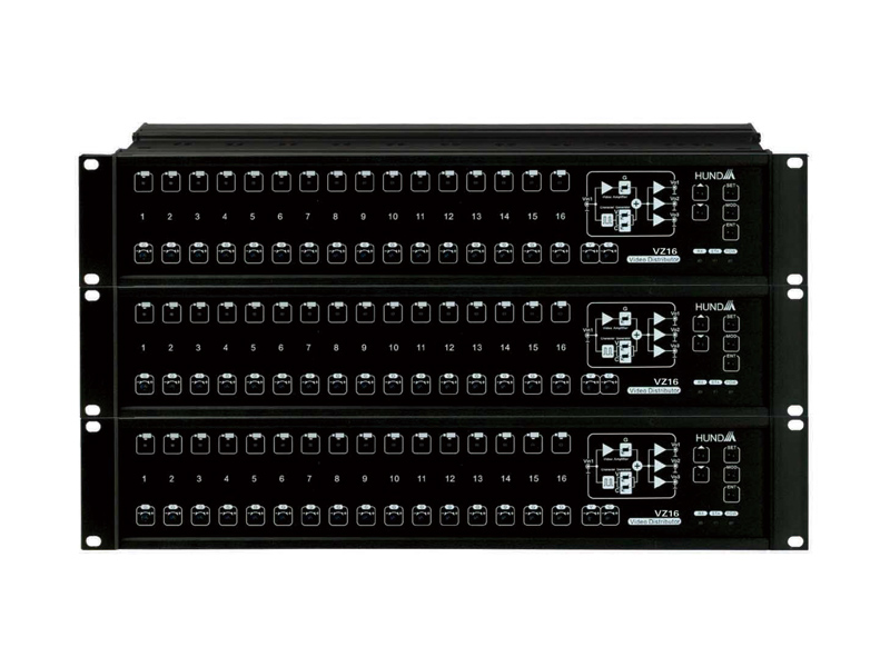 HD-VZ16系列视频分配器/字符叠加器/矩阵切换器