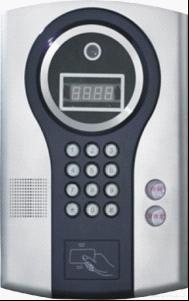 ID卡感应式可视对讲主机
