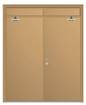 钢质防火门折叠门
