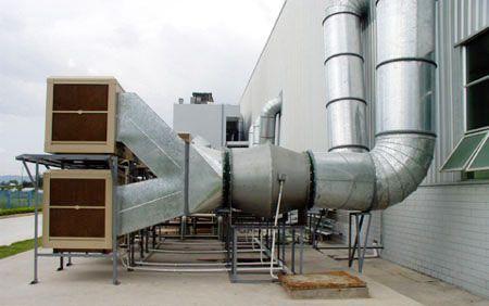 排烟管道内部结构