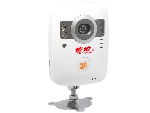 夜狼安防 家用3G无线防盗器 红外彩信夜视报警器 可录像 YL-3G-06