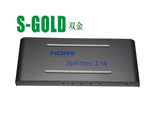 HDMI分配器一进四出1.4V