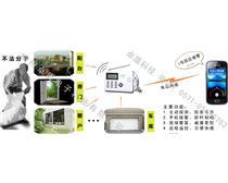 杭州非法入侵报警系统上门安装 公司安装监控摄像机 红外一键报警器