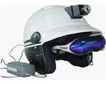 边防夜间监控专用头盔式摄像机