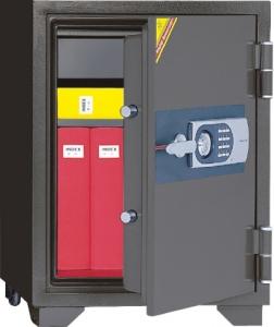 韩国得宝防火柜EDL77电子密码锁+钥匙070EHK