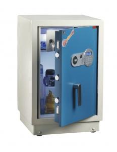 全能HG-6842保险柜 FDG-A1/D-60蓝白套色 电子密码保险柜