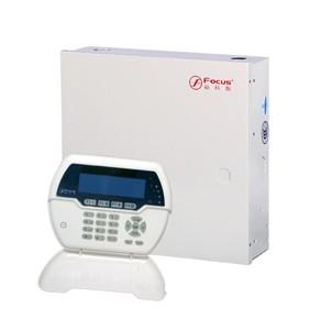 有线总线网络报警主机-有线无线总线全兼容报警主机