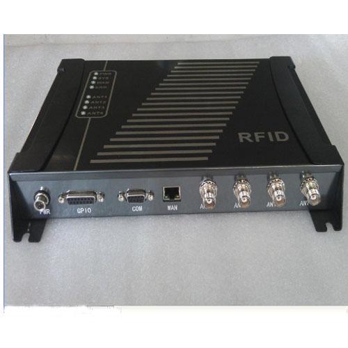 无源超高频915M四通道读写器/仓储管理多通道读卡器