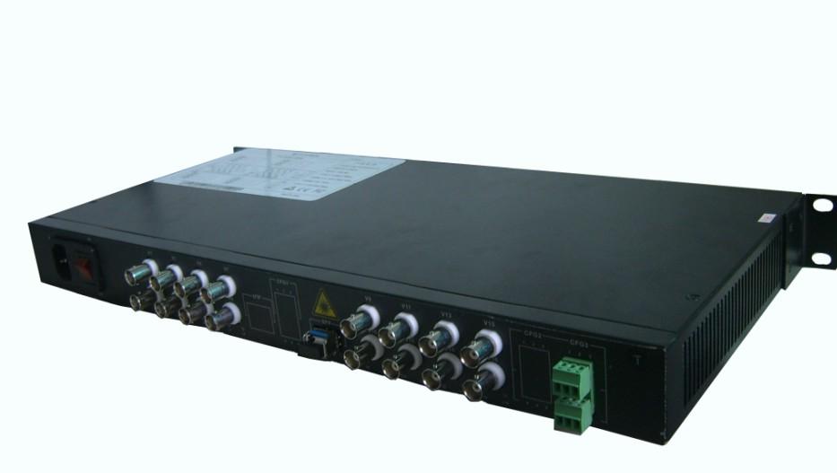 广州汉信16路机架式视频光端机
