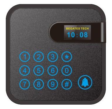 带键盘Mifare读卡器(IC)