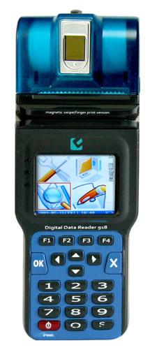 EH-0818带打印多功能彩屏指纹一卡通手持机