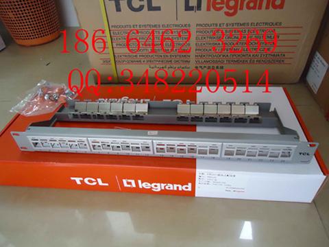 TCL六类24口非屏蔽数据配线架