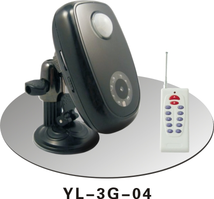 夜狼安防 家用3G无线防盗器 红外彩信夜视报警器 可录像