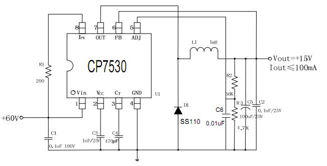 60v电动车仪表供电系统电源芯片