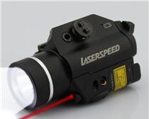 战术枪灯+激光瞄准器组合