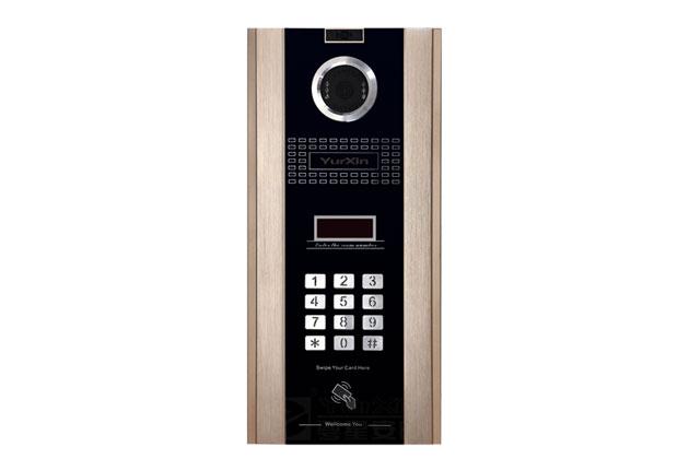 粤星网络楼宇可视对讲系统X40门口主机