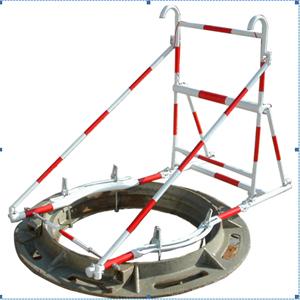 北京标准最专业安全井口爬梯三脚架