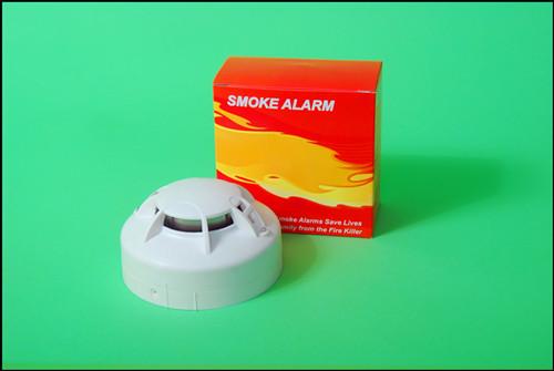 批发独立式光电感烟火灾探测器 家用独立烟感报警器感应器