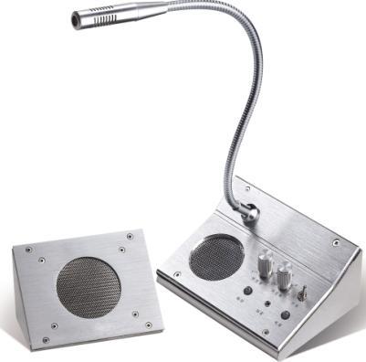 大功率窗口对讲机 专业用于车站 广场 收费站等噪杂环境 超大扬声器