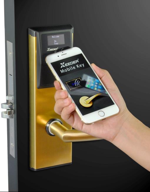 2015年酒店智能门锁,就选权威的宝迅达微信门锁