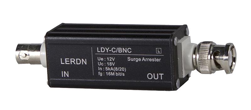 > 铝壳bnc视频信号防雷器
