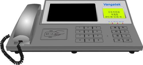 网线可视对讲系统管理中心机