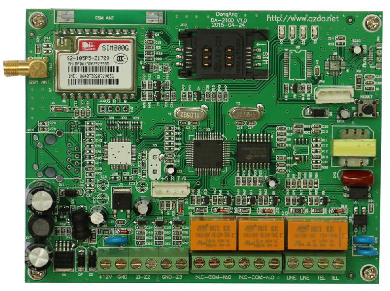 通用型GPRS无线网络报警传输模块