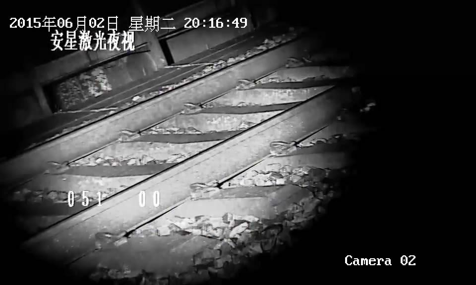 铁路无红曝激光夜视云台摄像机,940mm激光