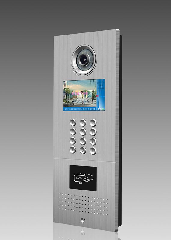 四川成都能预约电梯的数字TCP/IP网络可视对讲公司
