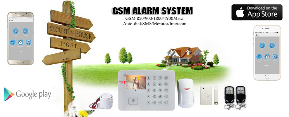 GSM无线报警器 商铺家用报警器 安防厂家批发