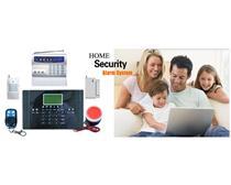 110联网报警主机,GSM家用防盗报警器,小区安防报警中心