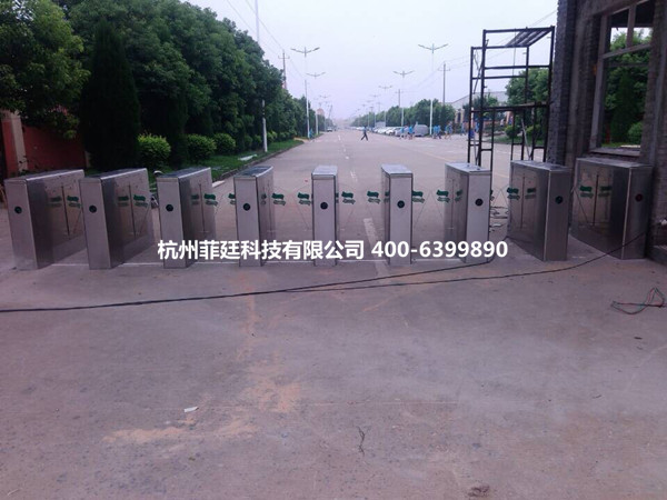 杭州专业生产餐厅出入口通道翼闸 学校刷卡出入口翼闸