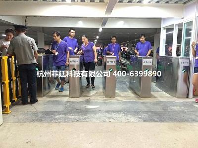宁波出入口闸机 写字楼刷卡闸机 企事业单位刷卡门禁