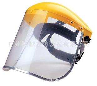 斯博瑞安(巴固)半头盔面屏支架防护面罩组合面屏防飞溅