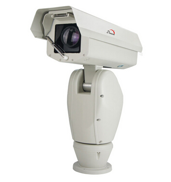 带云台监控摄像头与主机连接线路图