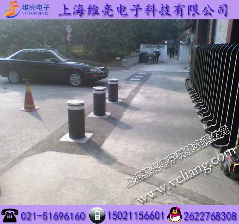 通道管制升降路障,遥控液压升降柱,厂区半自动升降路桩