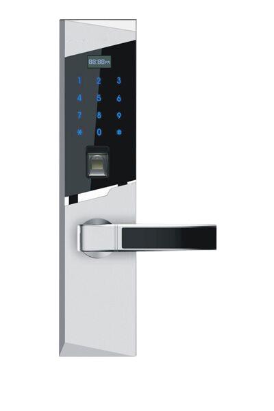 电子门锁家用指纹锁别墅家用防盗门锁密码锁指纹感应密码防盗锁