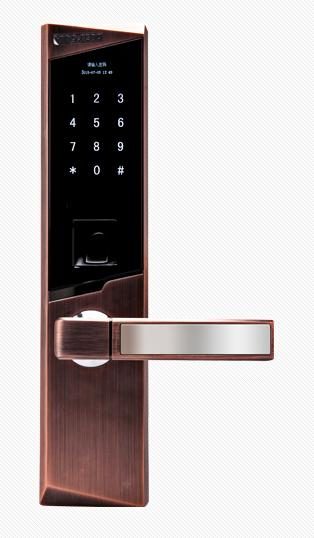 安家博士指纹锁密码锁智能防盗门锁电子门锁品牌锁具家用指纹锁