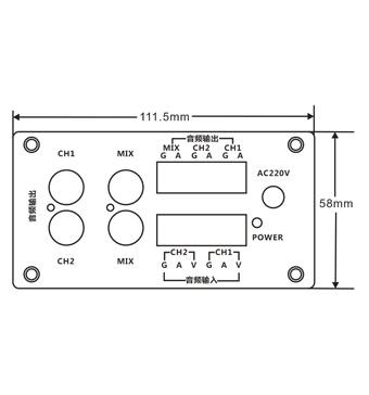自制监控拾音器电路图