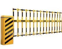 移动门升降杆 自动升降拦杆小区大门门禁 酒店停车折叠限位道闸机
