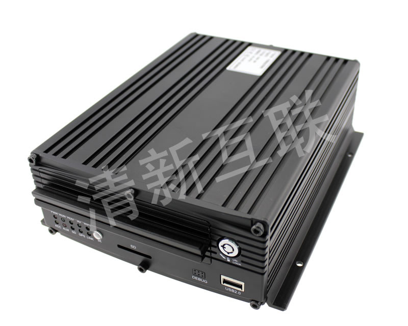 4G八路车载硬盘录像机
