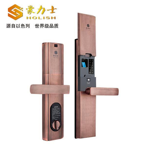 豪力士D9888F密码指纹智能锁