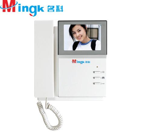 上海国内全网线楼宇对讲可视电控门门铃品牌名科公司