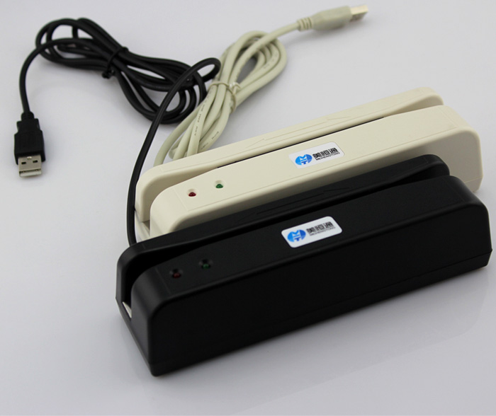 USB-无按键 单二轨磁条刷卡器