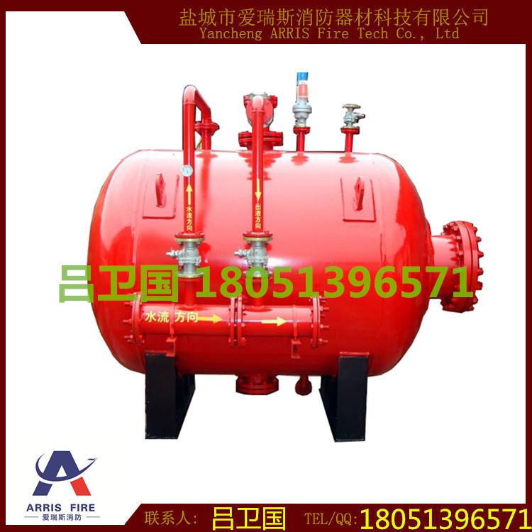 phym(l)卧式压力式泡沫比例混合装置 消防检测 3c认证