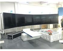 贝赛尔生产2X5铝合金前维护支架液晶显示器拼接