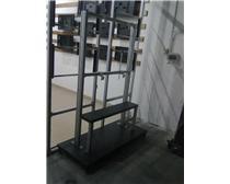 贝赛尔生产单屏落地移动支架液晶拼接铝型材电视墙